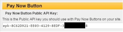 eWay Public API key